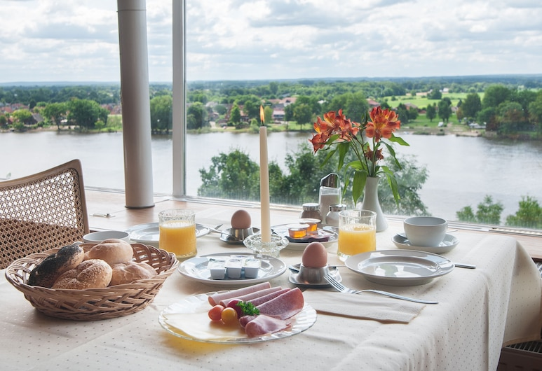 Hotel Bellevue, Lauenburg, Breakfast Area