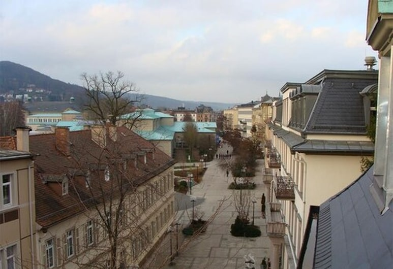Hotel Weisses Haus, Bad Kissingen, Apartment 1 , Vue depuis la chambre