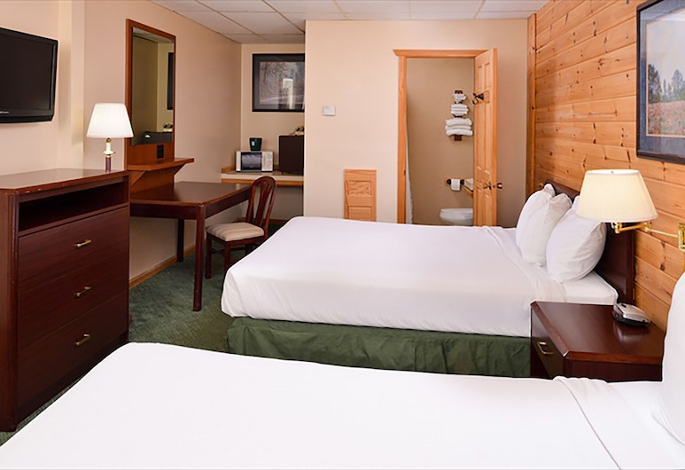 Cruise Inn RV Park and Lodging, Αλεξάντρια, Economy Δίκλινο Δωμάτιο (Double), 2 Queen Κρεβάτια, Δωμάτιο επισκεπτών