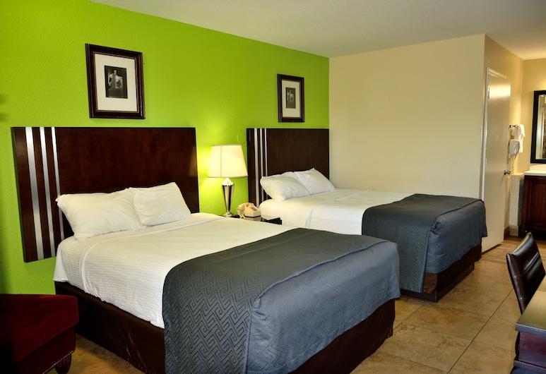 Flamingo Motel, Okeechobee, Habitación estándar, 2 camas dobles, para fumadores, Habitación