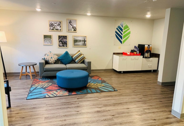 WoodSpring Suites Orlando South, Orlando, Lobby lounge
