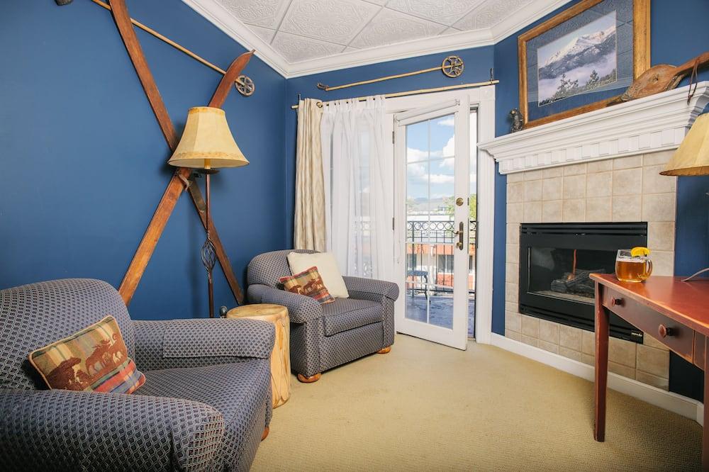 Colorado Columbine / King Bed / Fireplace - Sala de estar