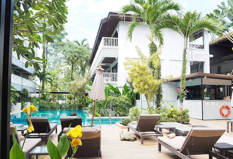 Aonang Buri Resort, Krabi, Buitenzwembad