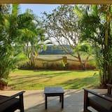 Habitación doble superior, 1 cama doble, balcón, vista al jardín - Vista al jardín