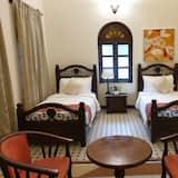 Villa, 2 camas individuales, vista al río - Sala de estar