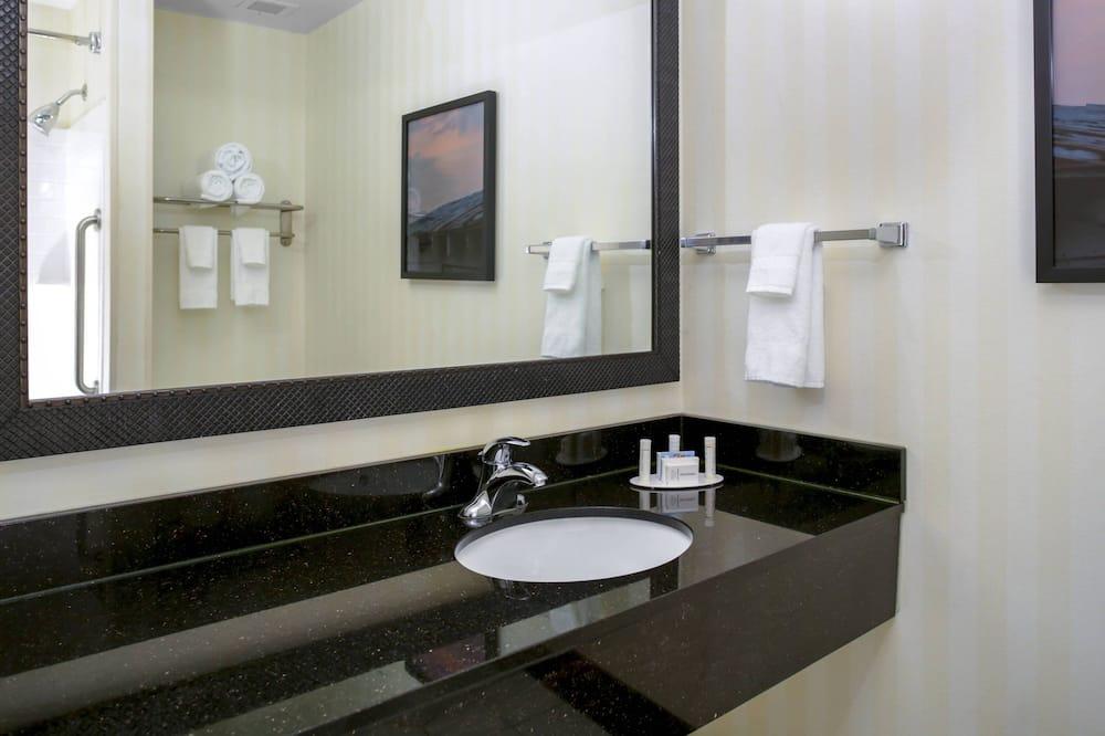 스튜디오, 킹사이즈침대 1개, 금연 - 욕실