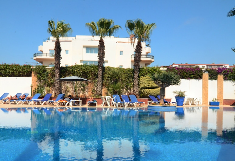 Golden Beach Appart'hotel, Agadir, Vonkajší bazén