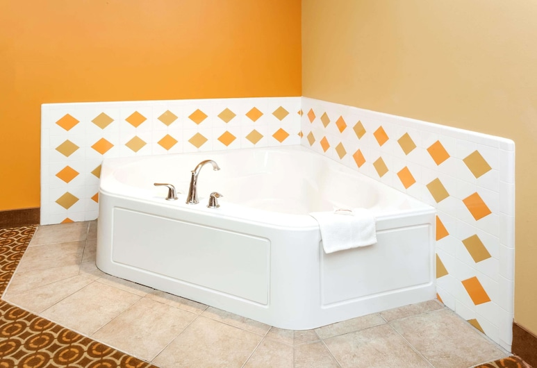 Microtel Inn & Suites by Wyndham South Bend/At Notre Dame Un, South Bend, Standard Room, 1 Queen Bed, Jetted Tub, Jetted Tub