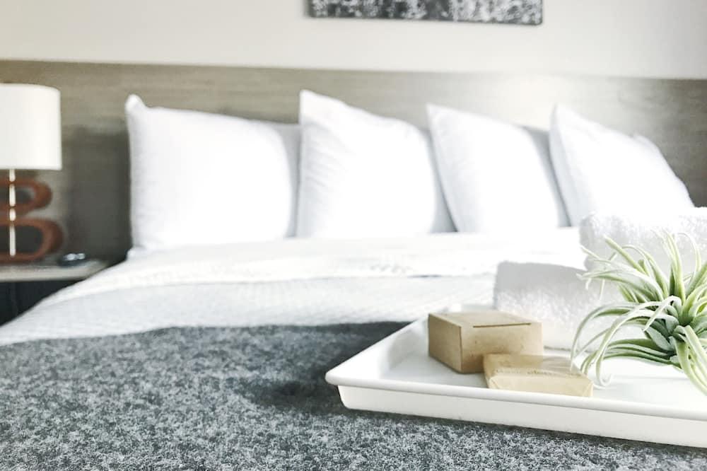 舒適雙人房單人入住, 1 張特大雙人床 - 客房