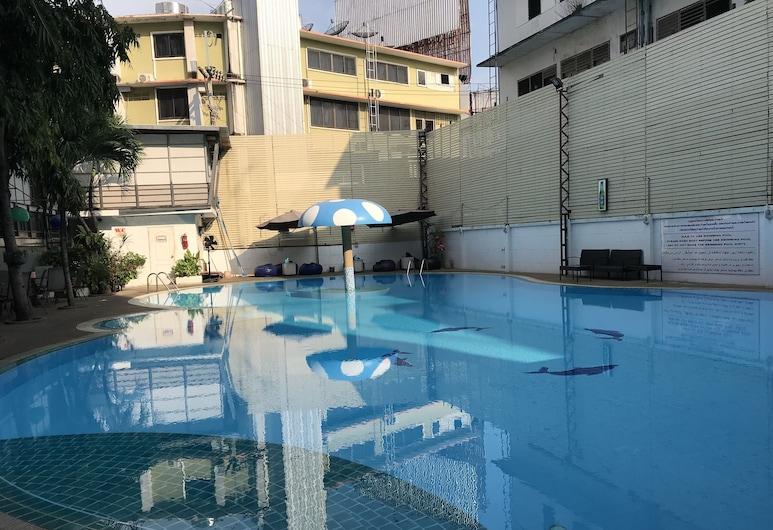 Pattaya Hiso Hotel, Pattaya, Hồ bơi ngoài trời