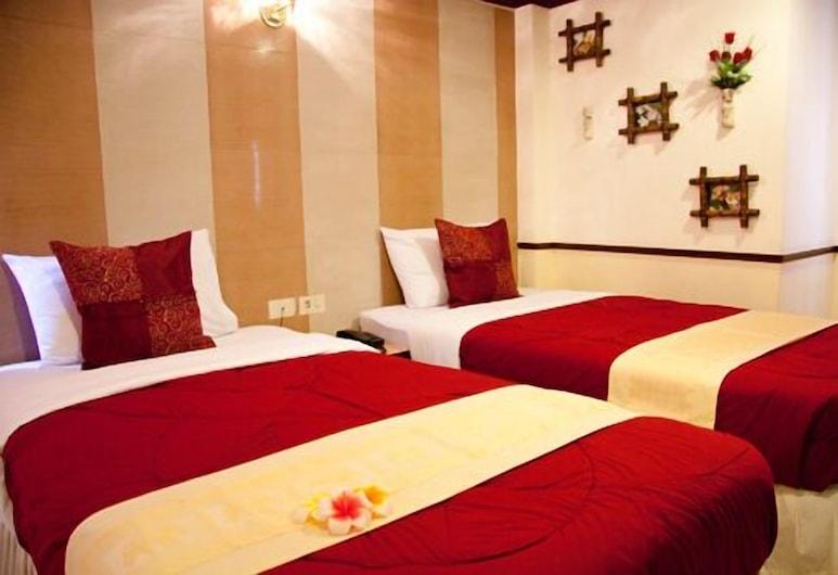 ハニー ハウス 2, バンコク, デラックス ツインルーム 1 ベッドルーム, 部屋