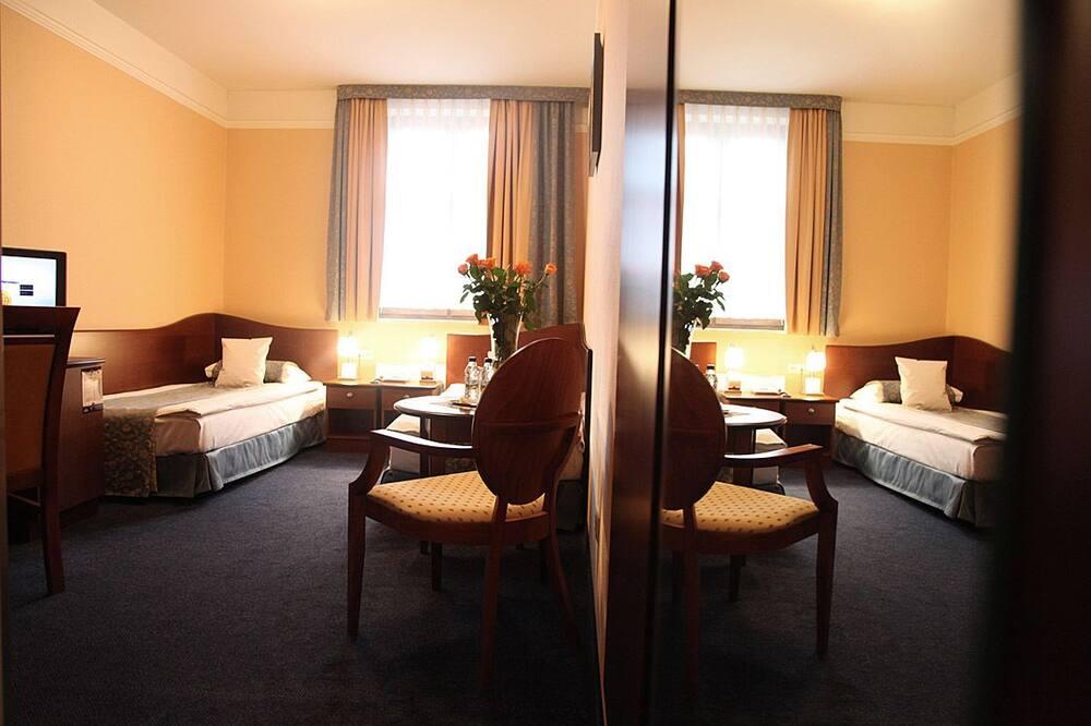 غرفة عادية لاثنين - منطقة المعيشة