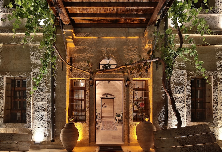 Elif Stone House, Ürgüp, Fassaad