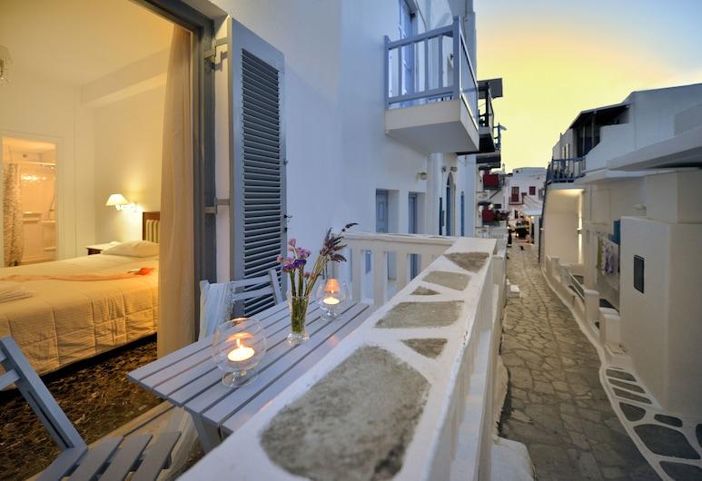 Galini, Mykonos, Balcone