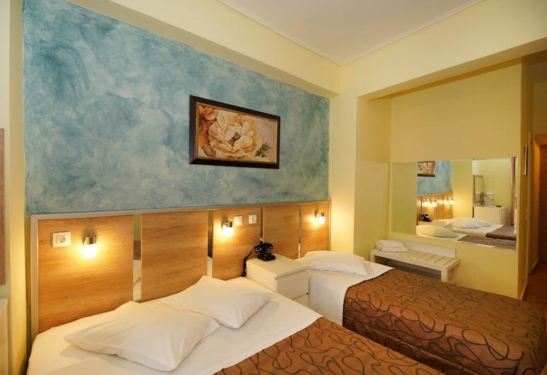 Hotel Socrates, Athén, Háromágyas szoba (1 double bed  & 1 single bed), Vendégszoba