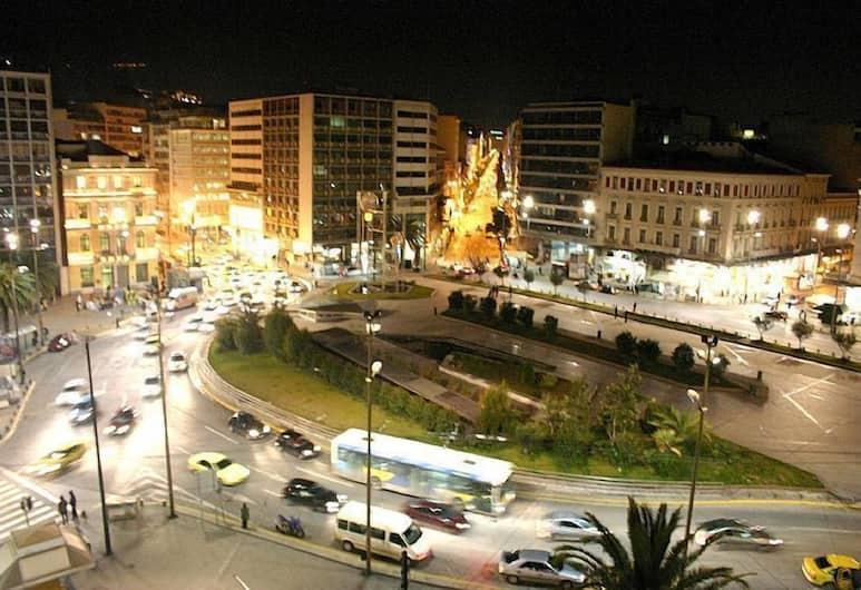 Pergamos, Atėnai, Vienvietis kambarys, Vaizdas į miestą