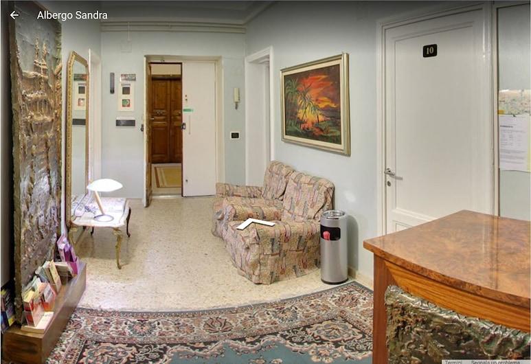 Hotel Sandra, Rom, Tempat Duduk di Lobi