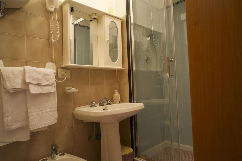 Double Room, Balcony - Bathroom