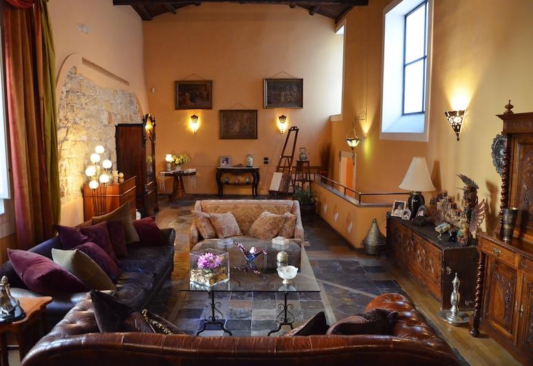 Ai Cartari, Palermo, Lounge della hall
