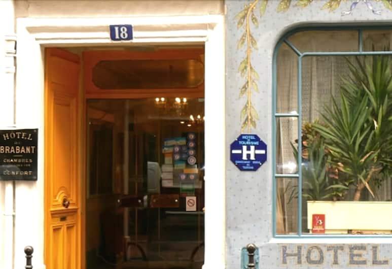 Hôtel Du Brabant, Paris, Hotellentré