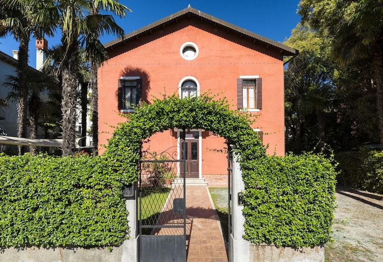 Villa Casanova, Venise, Entrée de l'hôtel