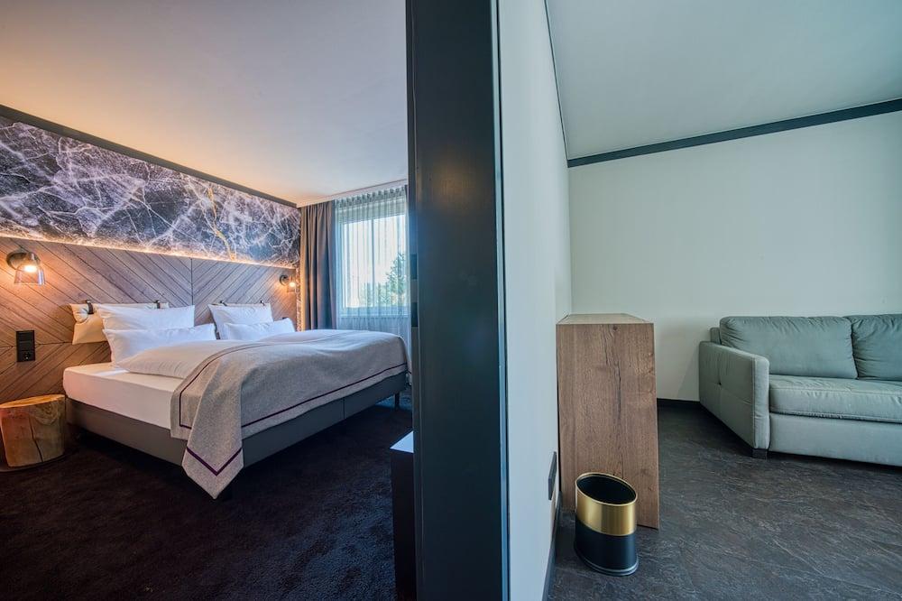 普通套房, 1 張特大雙人床 - 客廳