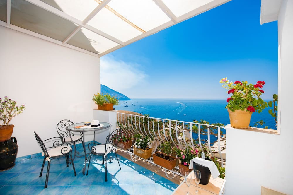 Superior Double Room, Balcony, Sea View - Balkoni