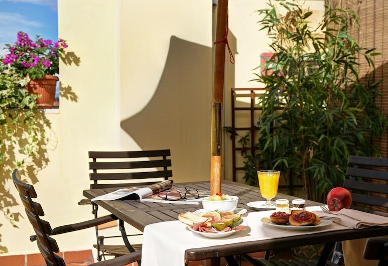 Hotel De Prati, Ferrara, Classic neljatuba, 2 magamistoaga, ühendatavad naaberruumid, Terrass