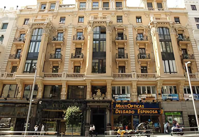 La Plata, Madrid, Hotelfassade