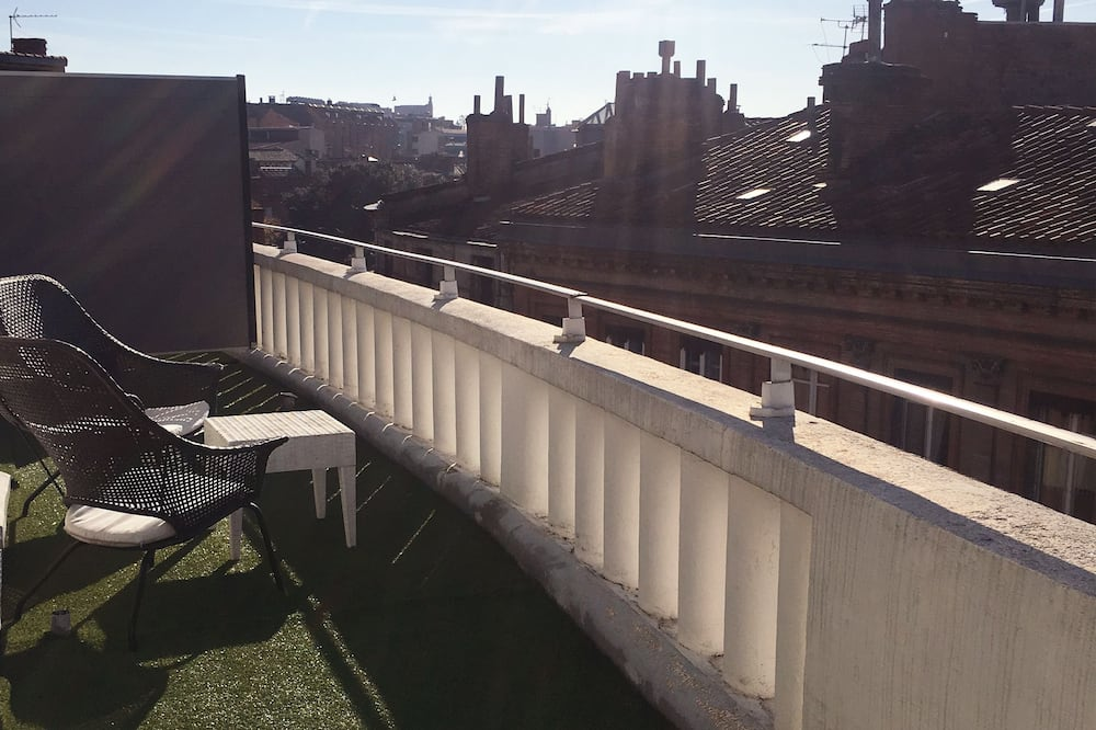 Superior Double Room, Terrace, City View - Balcony