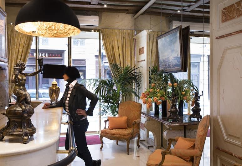 麗晶酒店, 巴黎, 櫃台