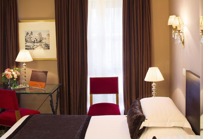 ホテル デ ドゥ コンチネント, パリ, トリプルルーム, 部屋