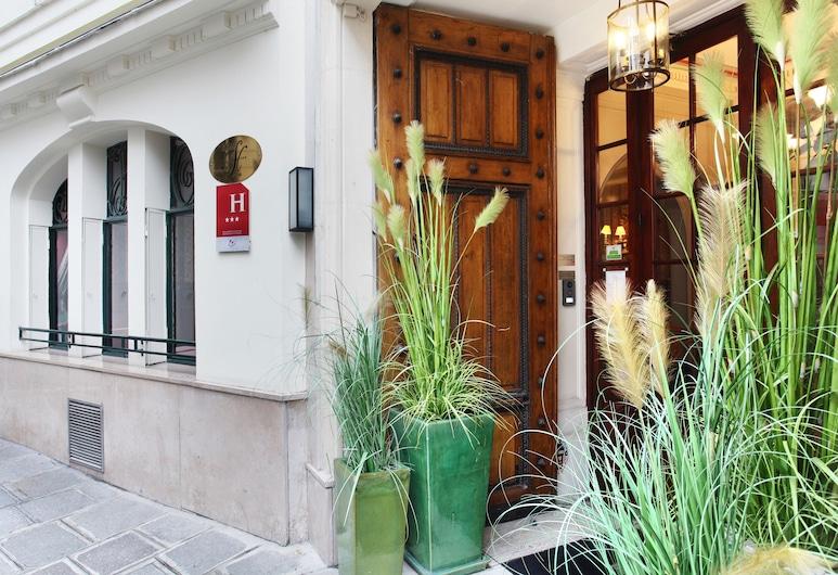 Hotel de Seine, Paris, Entrée de l'hôtel