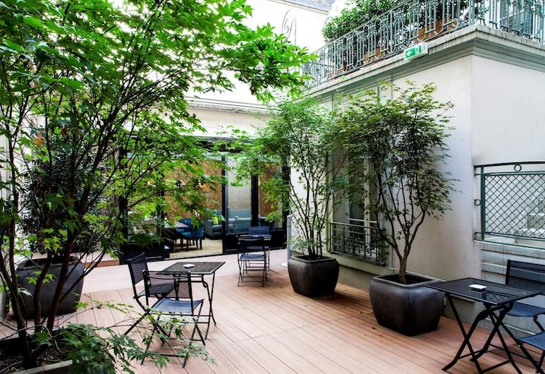 康考特酒店, 巴黎, 露台