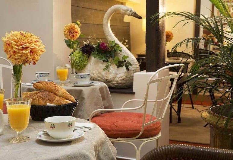 Hotel du Cygne, Paris, Frokostområde