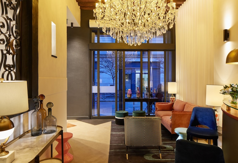 3H Paris Marais Hotel, Paris, Sitteområde i lobbyen