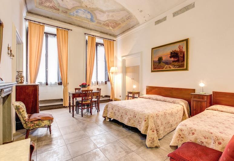 Hotel San Giovanni, Florence, Superior driepersoonskamer, privébadkamer (External), Kamer