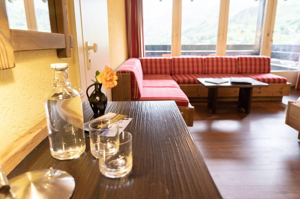 """Rom (Doppelzimmer """"Neuenalpspitz"""") - Oppholdsområde"""