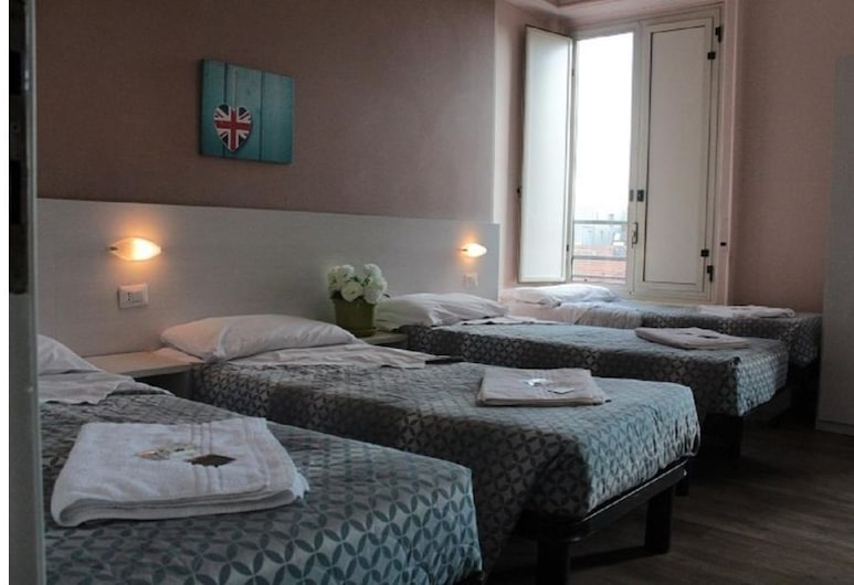 Hotel Kennedy, Milan, Shared Dormitory, 1 Twin Bed, Shared Bathroom (4 people), Guest Room