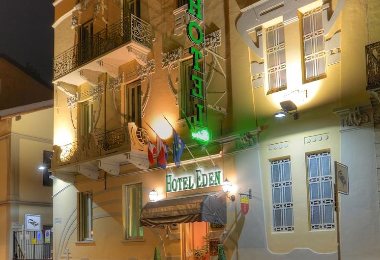 Hotel Eden, Turin, Hotel Front – Evening/Night