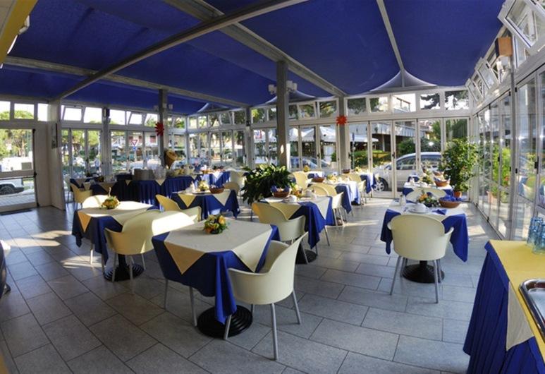 Hotel Minerva, Lignano Sabbiadoro, Área para desayunar