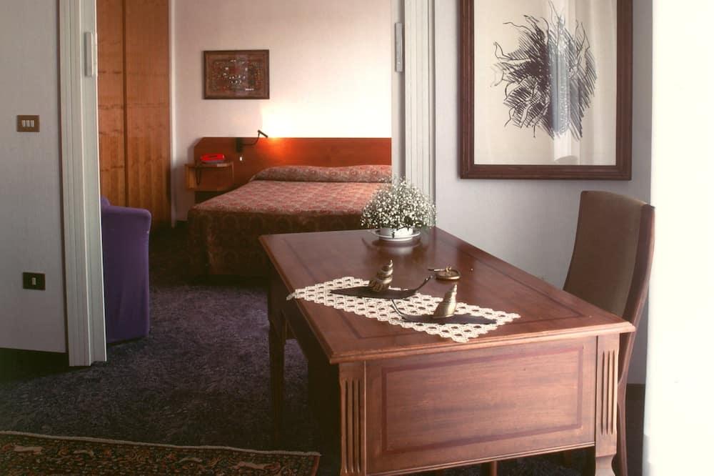 套房, 1 張加大雙人床, 非吸煙房 - 客廳