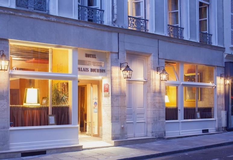 Hôtel du Palais Bourbon, Parigi, Facciata hotel