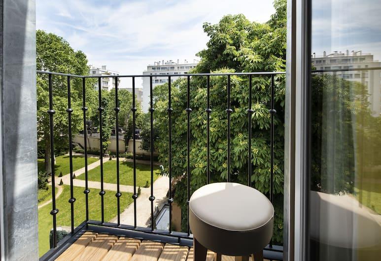 Hôtel de la Tour Eiffel, París, Herbergi með tvíbreiðu rúmi, Ytra byrði