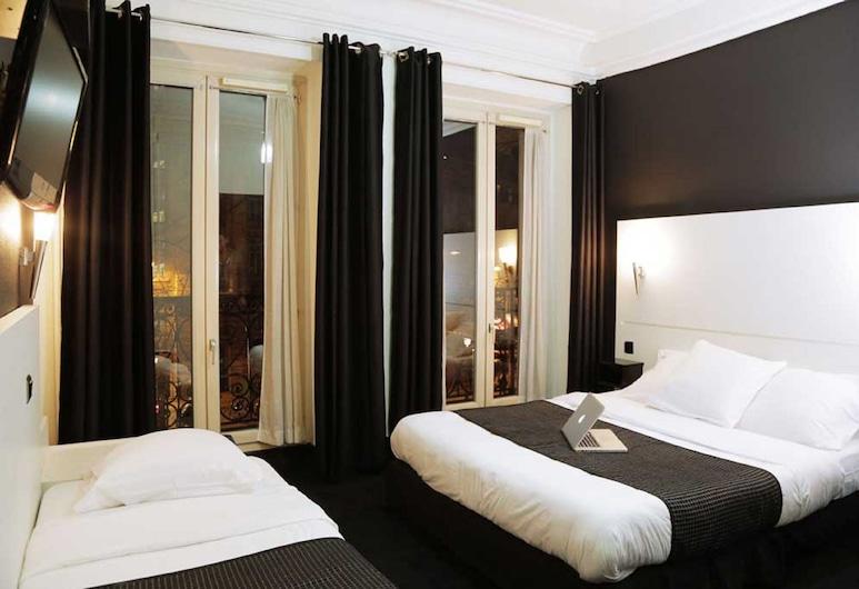 โรงแรมเดอเล็กซ์โปซิชิยง - เรปลูบลีก, ปารีส, ห้องทริปเปิล, ห้องพัก