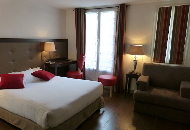 호텔 리틀 레지나, 파리, 트리플룸, 객실