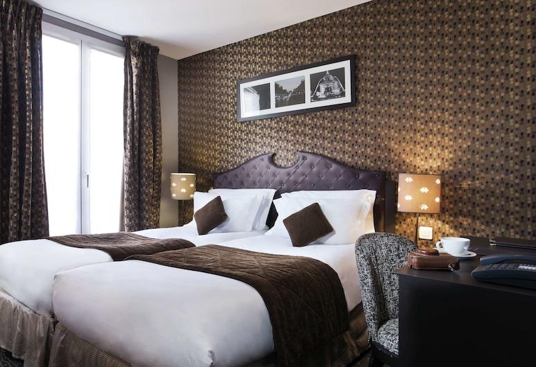 杜普林斯酒店, 巴黎, 高級雙人房, 2 張單人床, 客房景觀
