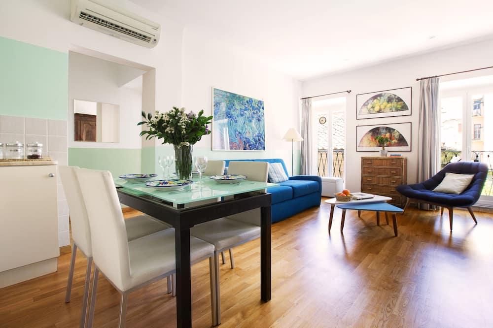 Appartement, 1 chambre, coin cuisine, vue ville - Entrée intérieure