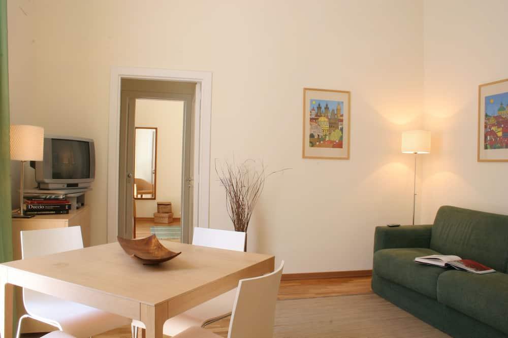 Căn hộ truyền thống, 1 phòng ngủ (Corso Italia 106-116) - Phòng khách
