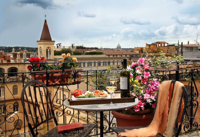 Hotel Modigliani, Roma, Vista dall'hotel